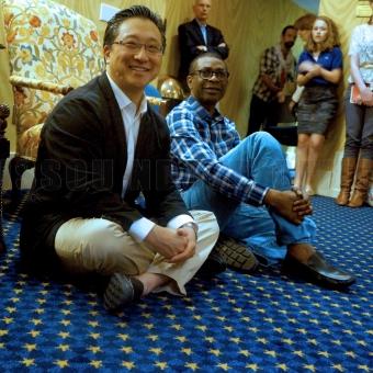 Rencontre avec Emil Kang et de ses étudiants à UNC