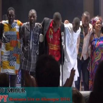 Youssou Ndour «HAPPY» «Kontana Remix » en Allemagne